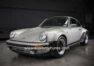 1982 Porsche 911 Turbo 930 Set Of 5 Quality A3 Poster Print Ad Shed Garage