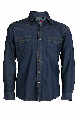 Sky T-Shirt Camicia jeans uomo one wash Regular fit