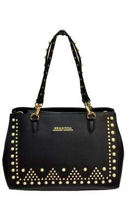Ermanno Scervino Borsa Donna Shopper New Anya Pearls Colore Nero 12400553