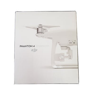 New DJI Phantom 4 Advanced 4k Quadcopter Camera Drone - White - Free UK Delivery