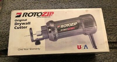 Rotozip RTM01 Rotomite Original Drywall Cutter New!