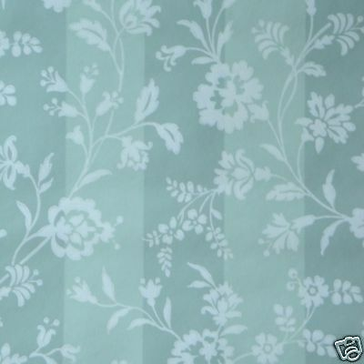 12sr Historic Repro Gorgeous c.1800 Floral Stripe Waterhouse Handprint Wallpaper