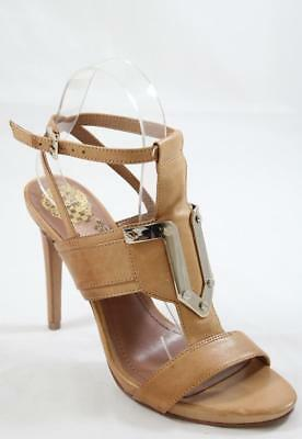 VINCE CAMUTO STRAPPY evening Sandales with 12M gold toe plate 12M with ... d96a2f