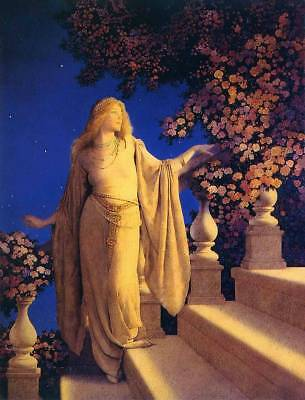 """Cinderella"" by Maxfield Parrish"
