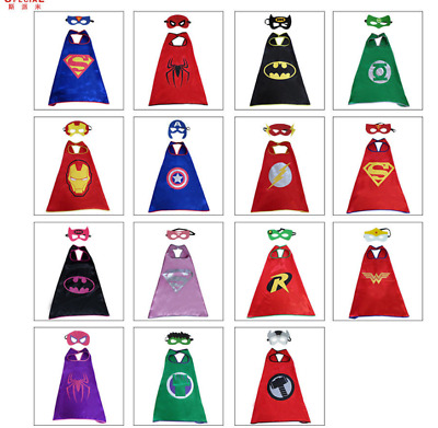 Cape For Kid Birthday Party Favors And Ideas Kids Superhero Cape 1 Cape&1 Mask