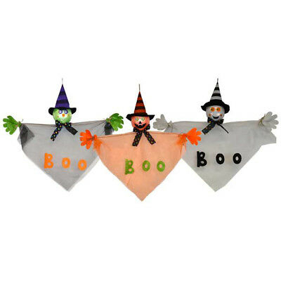 24 inch Hanging Halloween Decor Ghost , Pumpkin and Witch