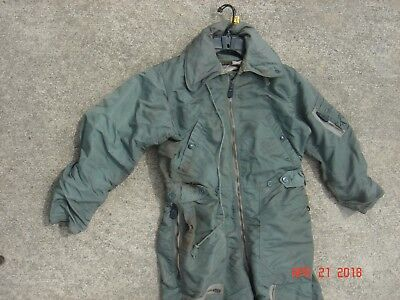 1958 USAF Flying Flight Suit Coverall Size Medium Regular Sandler Brothers