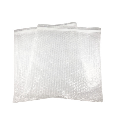 """12 x 11.5 Clear Self Sealing Bubble Pouch Cushioning Bags 12"""" x 11.5"""" - 100 Pack"""