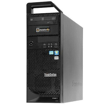 ❽-Core Lenovo S30 ThinkStation Xeon E5-4650L Ram 32GB SSD 256GB Quadro 2000 W10