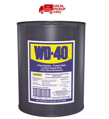WD-40 Lubricant,Bucket,5 gal.,25 VOC  -  49012 | Local Pickup ONLY