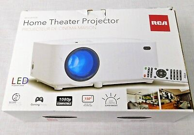 RCA RPJ116 2000 LUMENS LED Projector 1080P HDMI (90-day WTY) up to