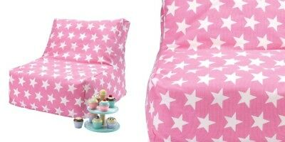 Great Little Trading Co ( GLTC )Washable Bean Bag chair Pink Star RRP £55