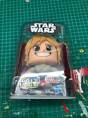 HOT NEW Star Wars Mighty Muggs Action Figures Wave 1 LUKE SKYWALKER AUTHENTIC