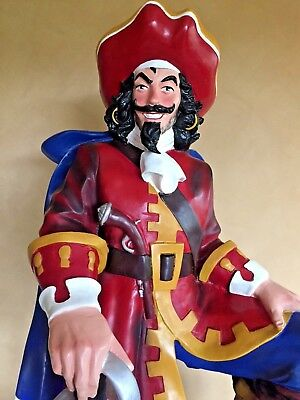 "Captain Morgan Statue, Advertising Display Diageo Spiced Rum 49"" Tall, Excellent"
