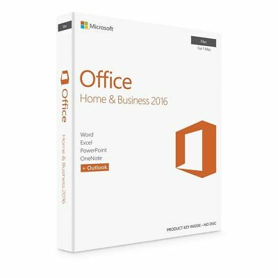 MICROSOFT OFFICE 2016 Home and Business for Mac - Lifetime Access