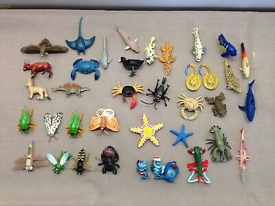 36 Yowie Toys- Insects Sea Creatures Reptiles Animals Nan.c1980's