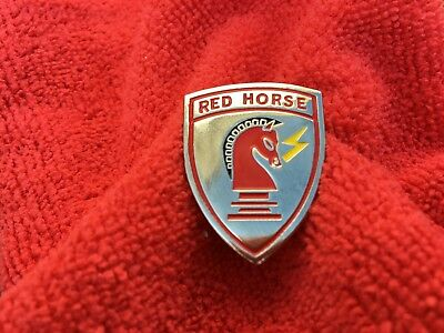Us Air Force Red Horse Hat/lapel Pin