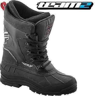 FLY RACING SNOW BOOT 2018 Aurora Boots 10 Castle X Snow Snowmobile Winter Ice