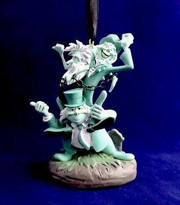 Disney Parks The Haunted Mansion Hitchhiking Ghosts Ornament - NEW With Tag