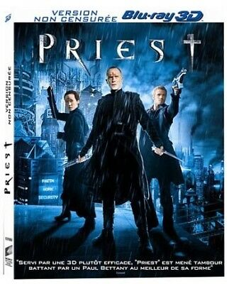 Priest BLU-RAY 3D NEUF SOUS BLISTER