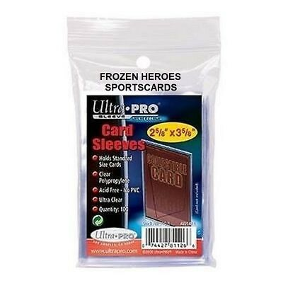 Ultra Pro Poly Card Sleeves 1 Pkg (100)**free Shipping Promo*