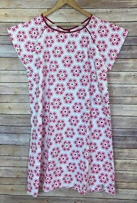 Labor and Delivery Gownies Gown Pink Flowers Floral Size L / XL - NWOT