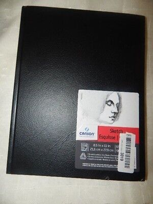 65 lb 11 x 14 Inches 90 Sheets Canson Basic Hardcover Sketchbook