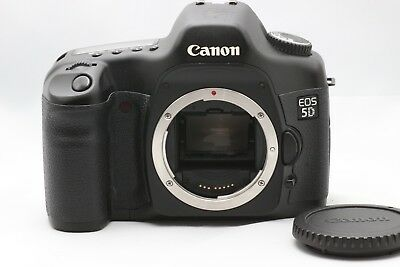 【EXC+++】Canon EOS 5D 12.8MP Digital SLR Camera Body Only From Japan
