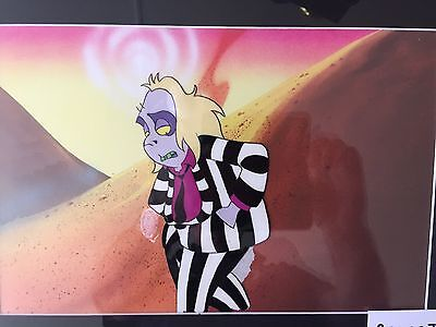 Genuine Beetlejuice Animation Art Production Cel