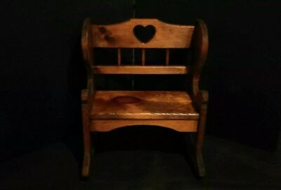 ~Vintage Childs/Doll Rocking Chair~