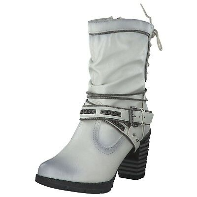 Mustang Women's Boots Winter Boots Winter 1292603-203 White Ice New