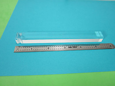Optical Rare Truncated Glass Rod Bar Laser Optics As Pictured Bin#b6-12