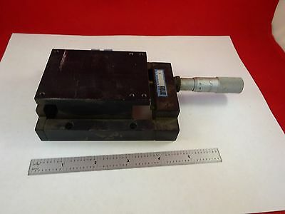 Microscope Part Positioning Ardel Kinamatic Micrometer Stage As Is Bin#f8