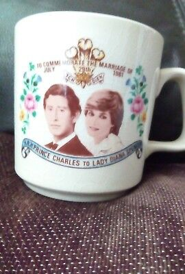 lady di and prince charles cup