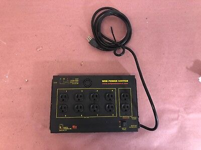 Digital Loggers Inc LPC-3 Web Power Switch 8 Outlets 15 Amp Max | 110-120 V