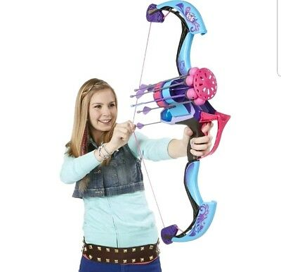 Nerf Rebelle Secrets and Spies Arrow Revolution Bow Blaster toy gun games new