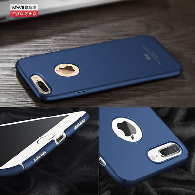 Matte Transparent Ultra-Thin Slim Shockproof Back Case Cover For IPhone 5 6 7 Pl