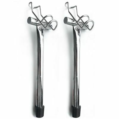 One Pair Of One Way Stainless Boat Fishing Rod Holders,Fishing Tackle Special!