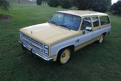 1985 Chevrolet C-10  1985 Chevy Silverado Suburban C10 Slammed Rat Hot Rod Muscle Patina Shop Truck