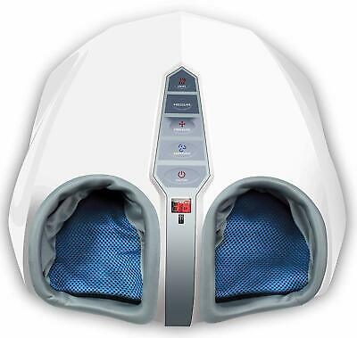 Miko Shiatsu Foot Massager With Deep Kneading Heat Therapy & Rolling Air Massage