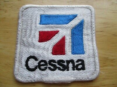 Cessna Airplane Patch