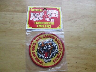 Ringling Bros. & Barnum Bailey Circus Patch Patch New Old Stock.
