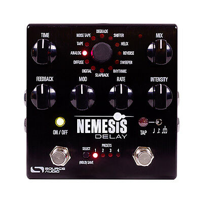 Source Audio SA260 Nemesis Delay One Series True Bypass Guitar Effects Pedal