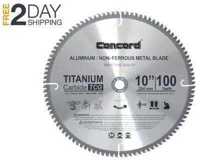 10 Miter Saw Blade 10 Inch TCT Compact Non Ferrous Metal Circular Cutting Table