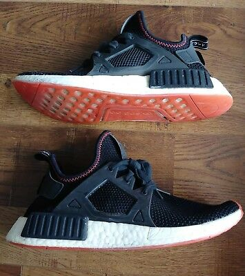 new style c422f 8a879 Adidas NMD XR1 Contrast Stitch Pack Blk Red Art BY9924 Mens Size 7.5