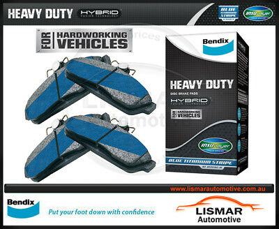 Bendix DB2004HD Front Brake Pads for LEXUS, RX270, RX350, RX450, TOYOTA KLUGER