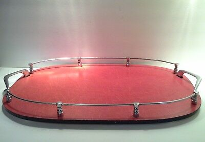 Large 1960s Retro Style Serving Tray