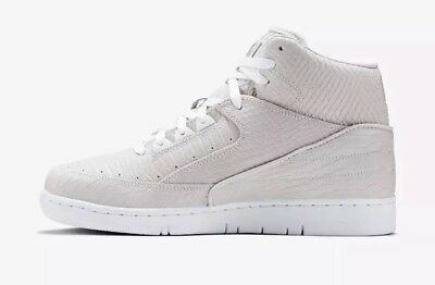 3e7dd9e9d48cfa  150 Nike Air Python PRM Men s Size 8.5 Shoes White Metallic Silver 705066 -100
