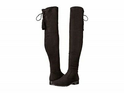18ead4ba07a Women s Marc Fisher Black Fabric Over-the-Knee Olympia Boot Size 6.5M NEW