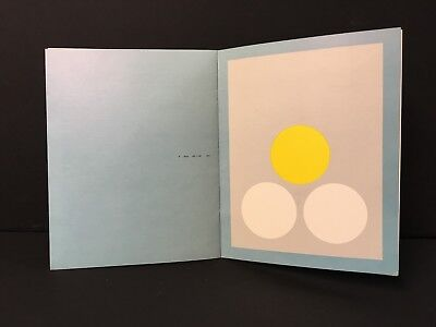 FREDERICK HAMMERSLEY  Art Exhibition Catalog from 1962